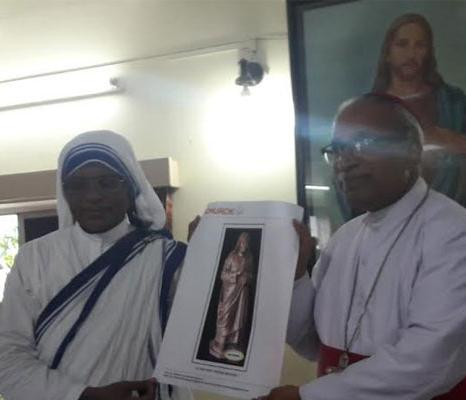 Mother Teresas statue to be installed in Kolkata