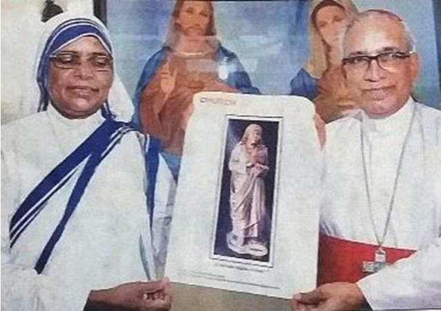 Mother Teresa statue to be installed in Kolkata