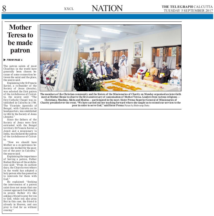5 Sept The Telegraph Pg5