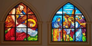 Stained Glass of Fibre
